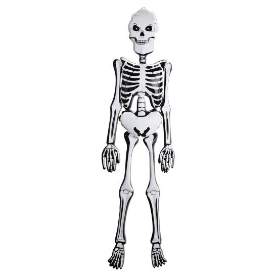 Decoratie opblaas skelet 150 cm