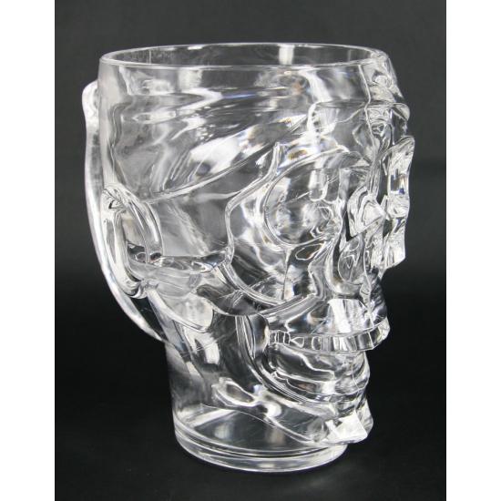 Halloween Grote schedel Halloween drinkbeker 22 cm