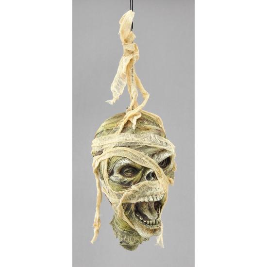 Halloween Hangend mummie horror hoofd
