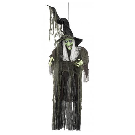 Halloween Heksen hangdecoratie 190 cm