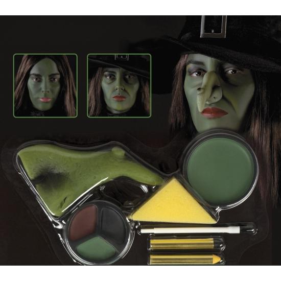 Halloween Heksen schmink set