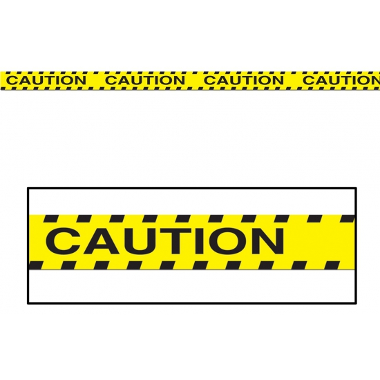 Halloween Markeerlint Caution