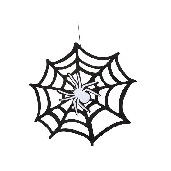 Halloween spinnenweb 45 cm