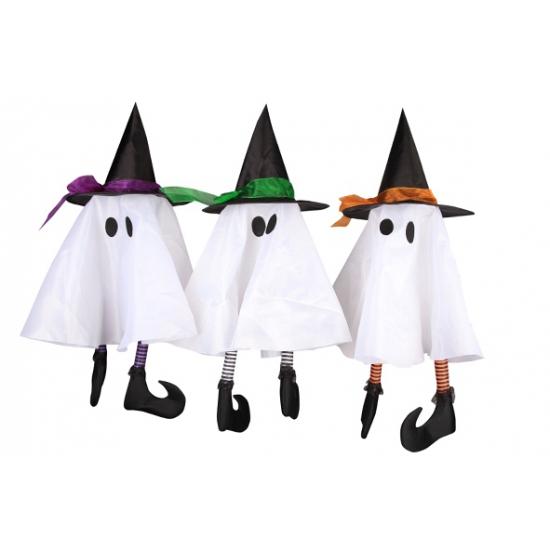 Hangend spookje decoratie 62 cm
