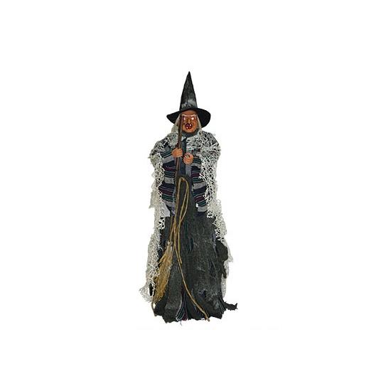 Heksen pop 80 cm met licht en geluid