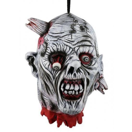 Horror decoratie hoofd 30 cm