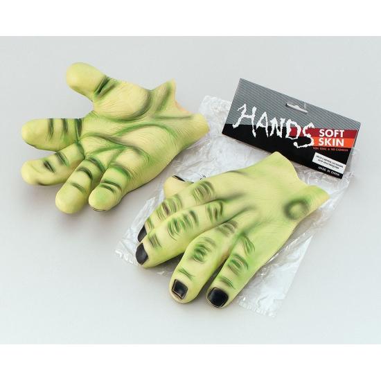 Horror handen groen
