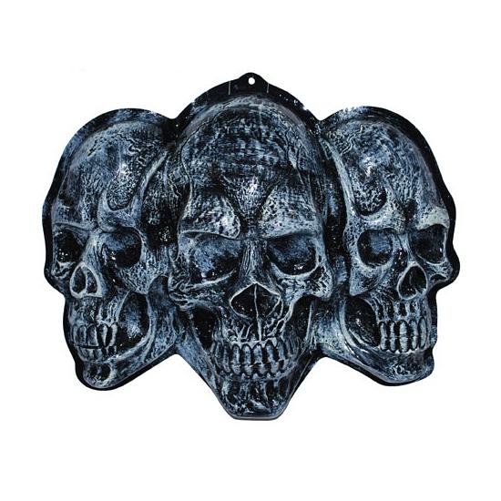 Wanddecoratie schedels