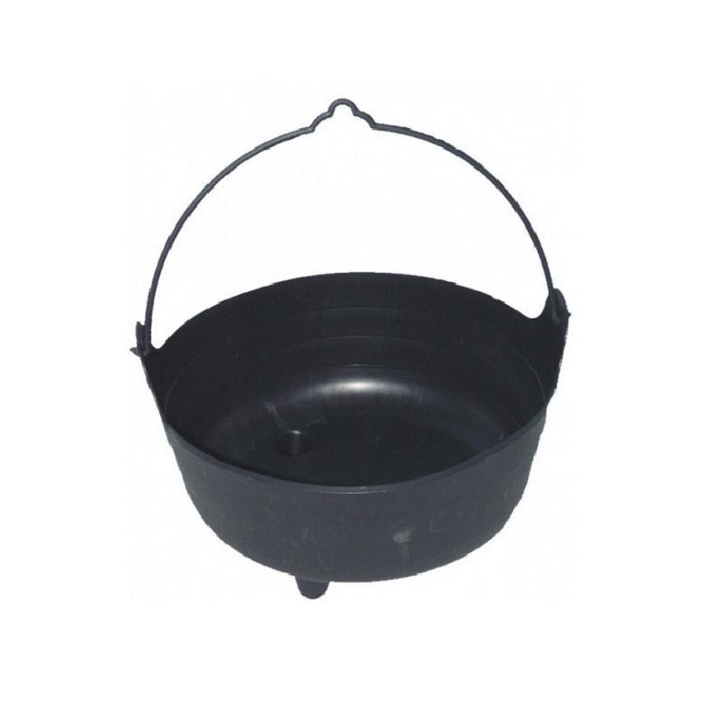 Zwarte heksenketel 37 cm