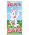 Deurposter happy easter 76 x 150 cm