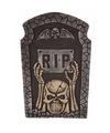 Halloween grafsteen rip met knipperende led ogen 54 cm