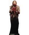 Halloween groot decoratie bord zombie vrouw