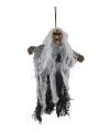 Halloween hangend spook 25 cm