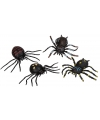 Halloween harige nep spin ragly 13 cm