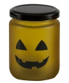 Halloween led theelicht geel