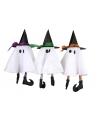 Halloween spookje met heksenhoed