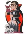 Halloween wanddecoratie vampier