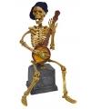 Skelet decoratie met geluid en licht