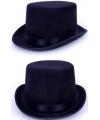 Voordelige hoge zwarte hoed