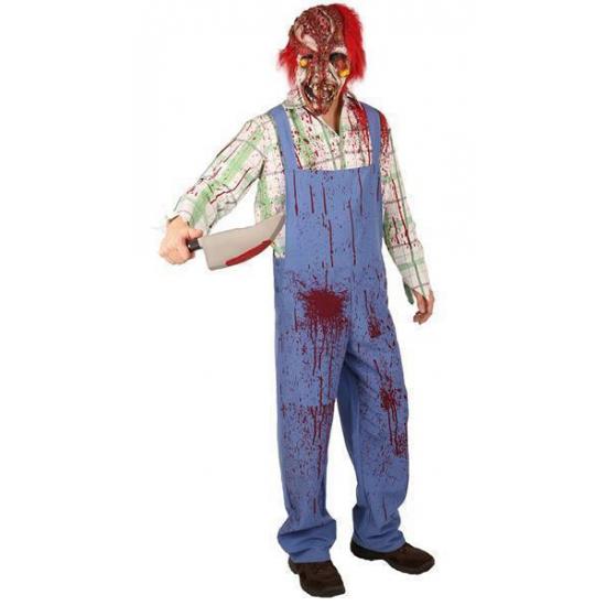 Halloween Kostuum Nl.Griezelig Clown Zombie Kostuum Met Bloedspetters Halloween