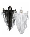 Halloween hangdecoratie zwarte spook pop 75 cm